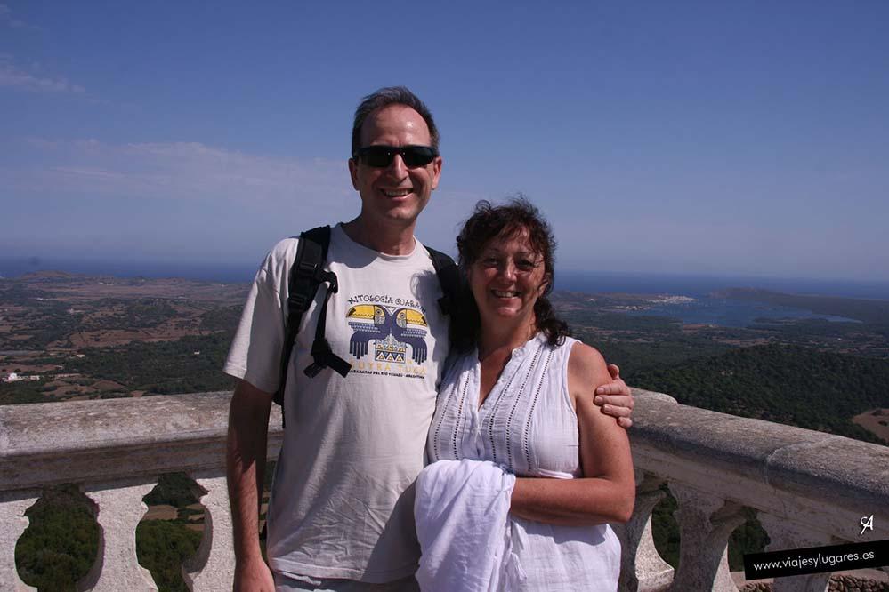 En el Monte Toro de Menorca