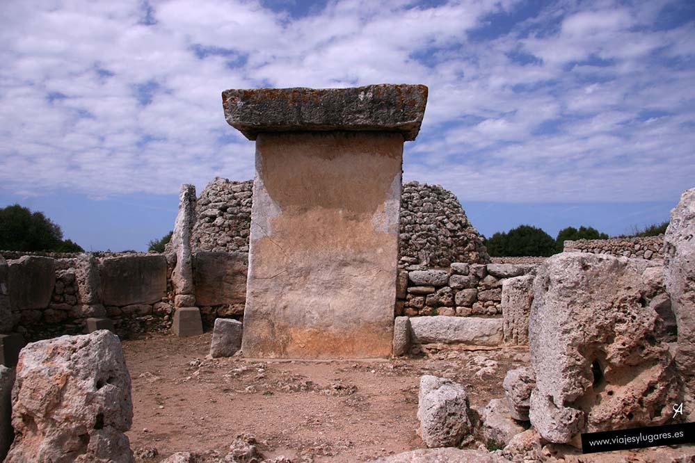 Monumento megalítico de Trepucó en Menorca