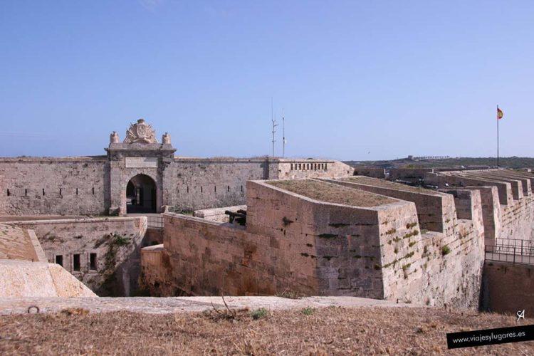 Fortaleza de la Mola en Menorca
