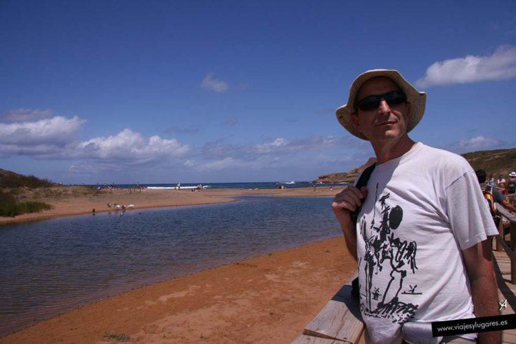 Playa de Binimel·là en Menorca