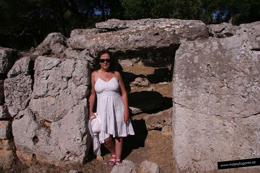 Poblado prehistórico de Talatí de d'Alt en Menorca