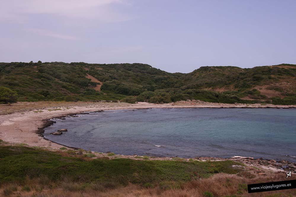 Cala Sa Torreta en Menorca