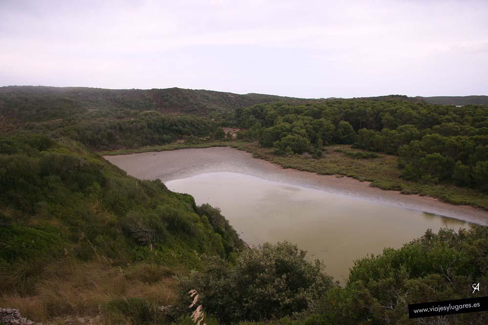 S'Albufera de Es Grau en Menorca