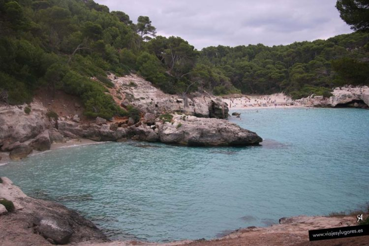 Cala Mitjana y Cala Mitjaneta en Menorca