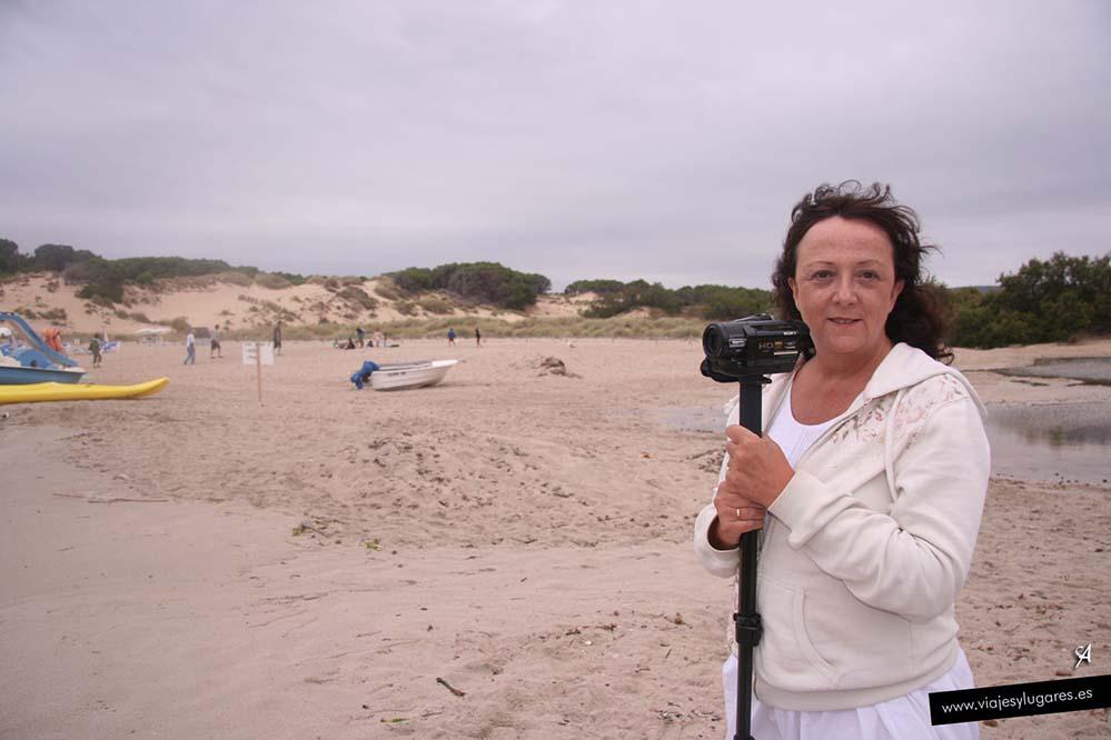 Arenal de Son Saura, norte de Menorca