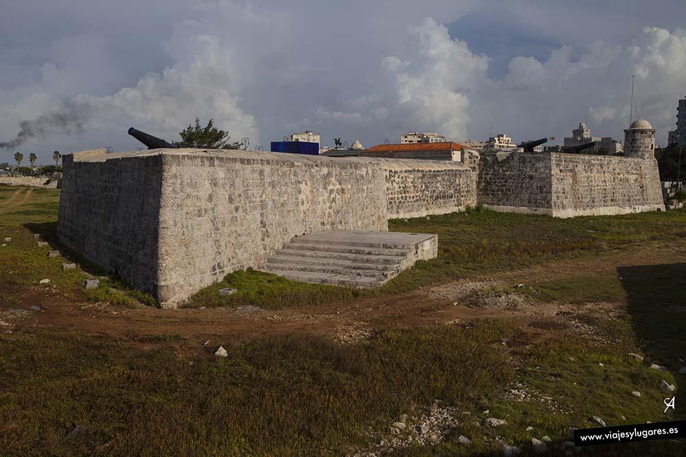 Castillo de San Salvador de La Punta. Fortalezas de La Habana