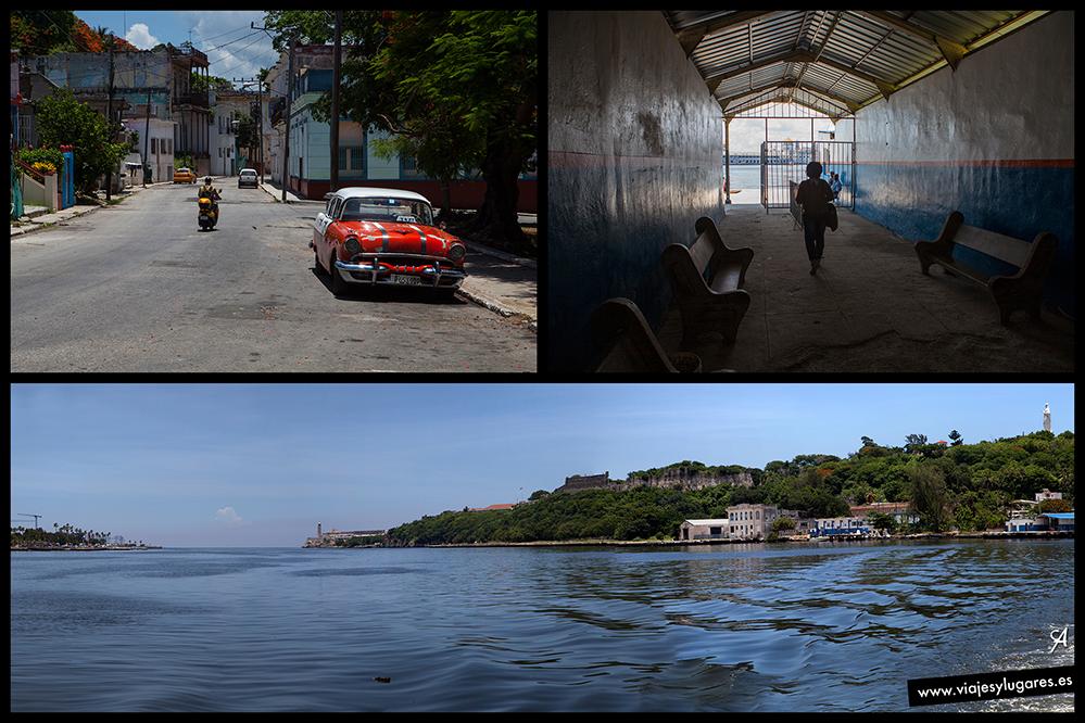 La lanchita de Casablanca. La Habana