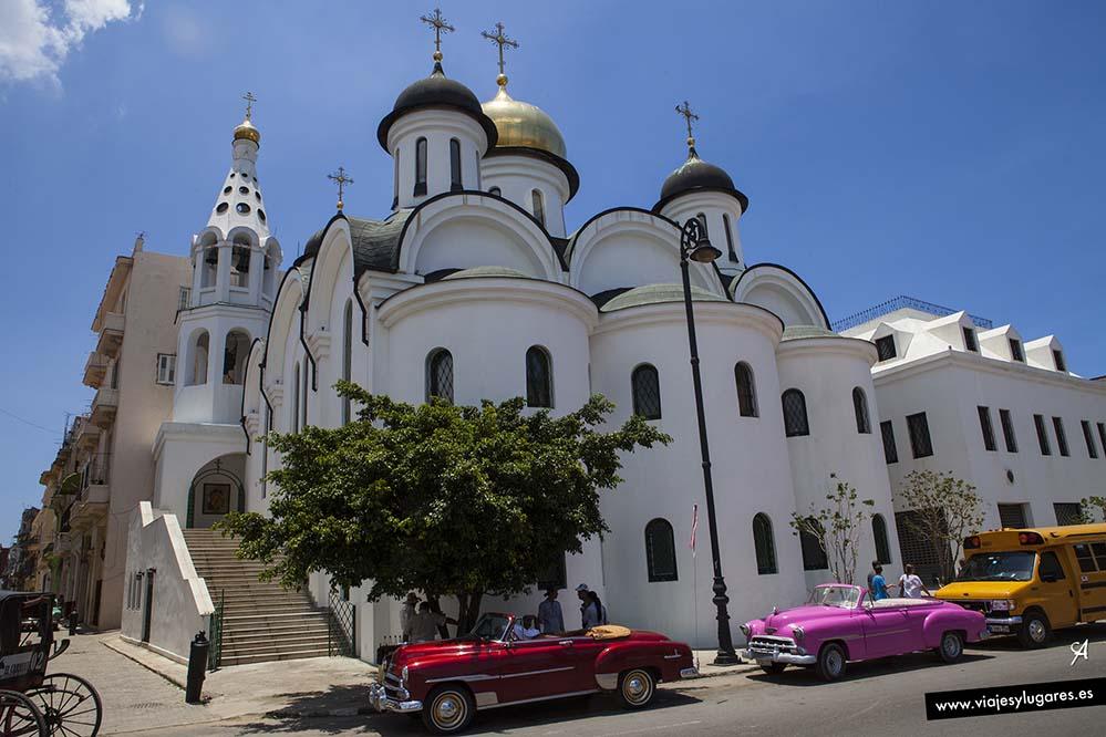 Catedral ortodoxa Nuestra Señora de Kazán. La Habana