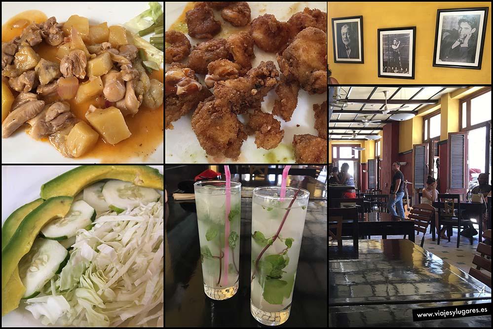 Restaurante Los Hermanos. Avenida del Puerto, nº 304. La Habana