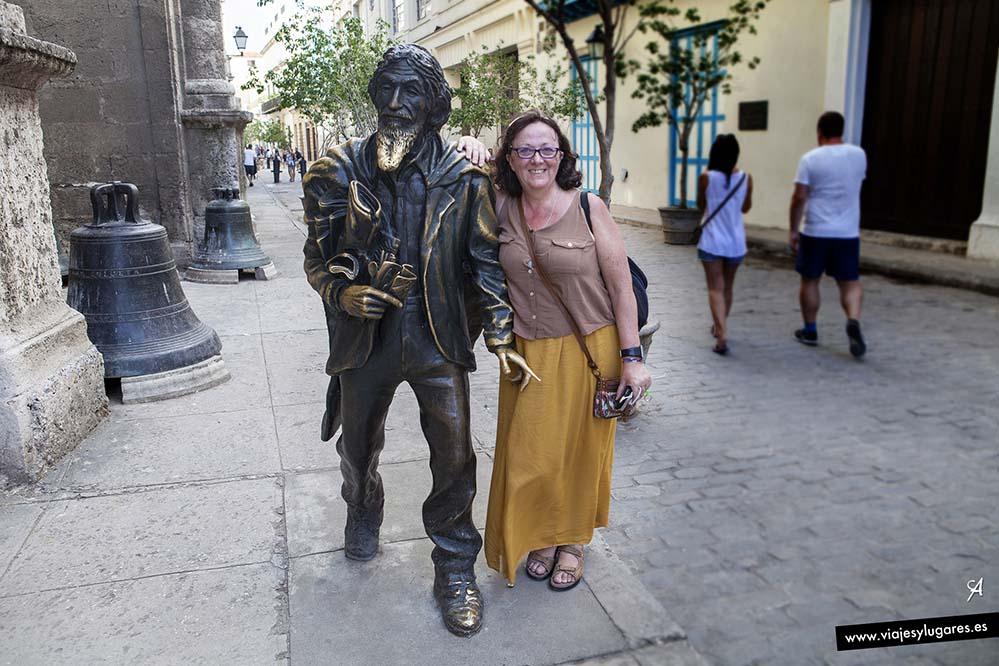 El Caballero de París. C/ Oficios154. La Habana