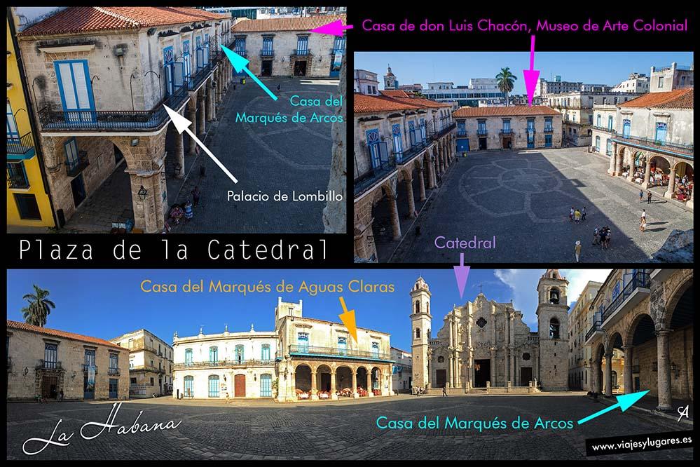 Plaza de la Catedral. Paseando por La Habana Vieja