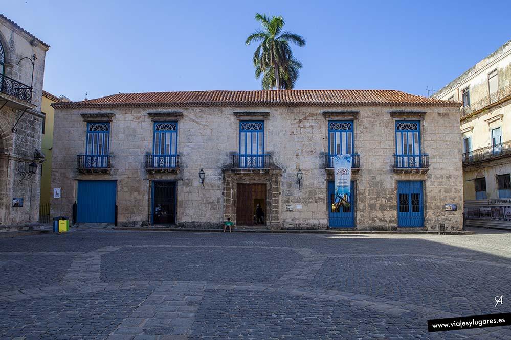 Casa de Don Luis Chacón. Paseando por La Habana Vieja