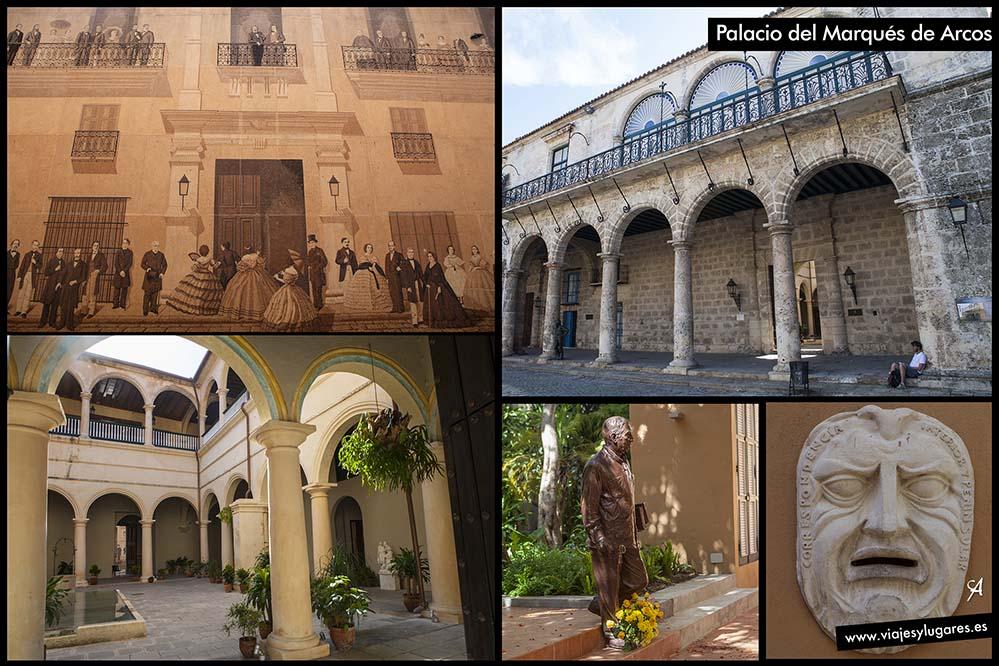 Casa del Marqués de Arcos. Plaza de la Catedral. Paseando por La Habana Vieja