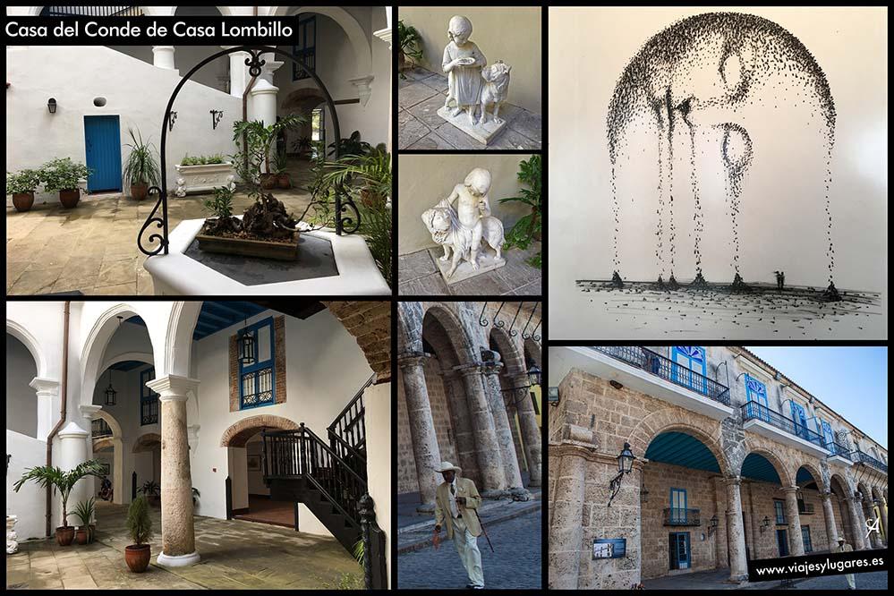 Palacio del Conde de Casa Lombillo. Plaza de la Catedral. Paseando por la Habana Vieja