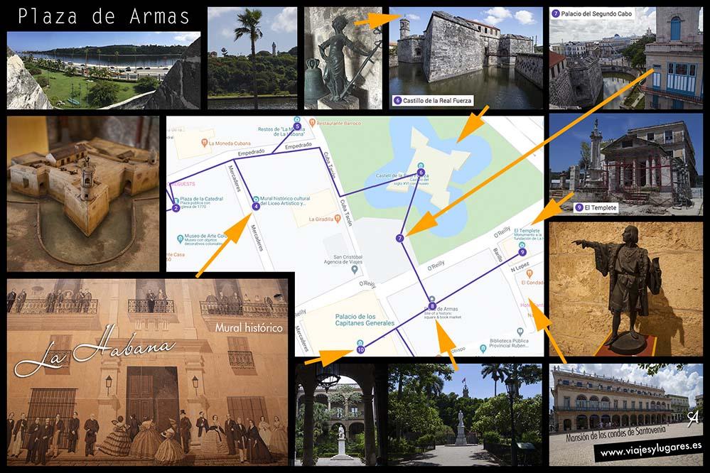 Plaza de Armas. Paseando por la Habana Vieja