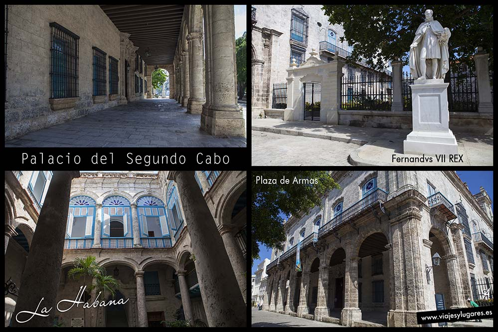 Palacio del Segundo Cabo. Plaza de Armas. Paseando por la Habana Vieja