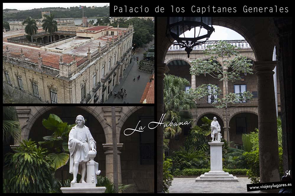 Palacio de los Capitanes Generales. Plaza de Armas. Paseando por la Habana Vieja