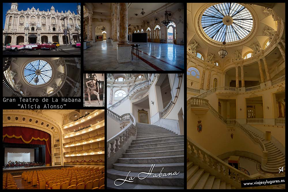 """Gran Teatro de La Habana """"Alicia Alonso"""". Paseando por Centro Habana"""