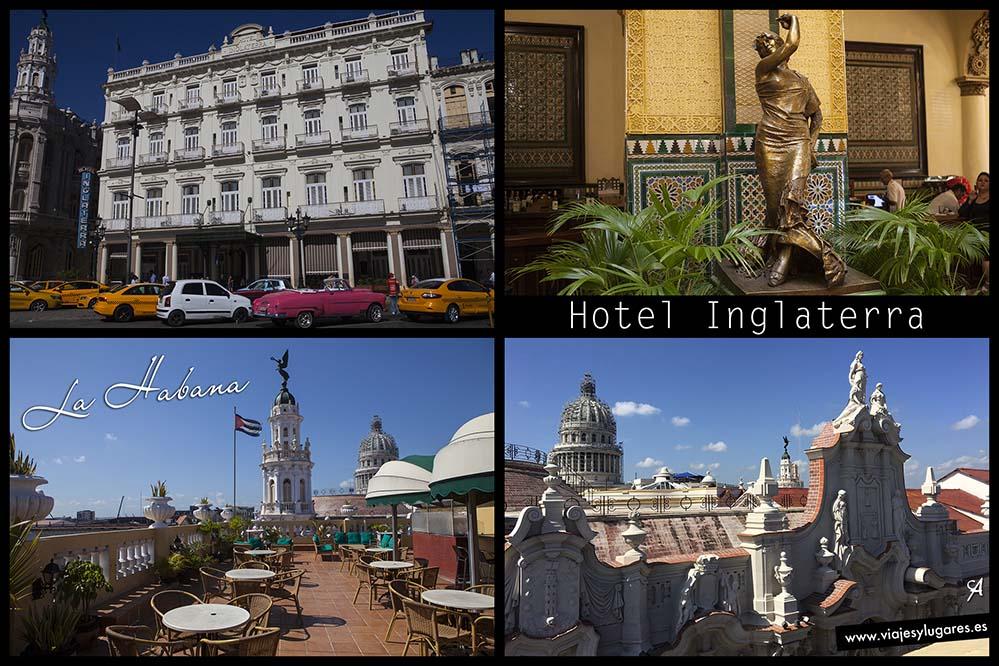 Hotel Inglaterra. Paseo del Prado 416. Paseando por Centro Habana