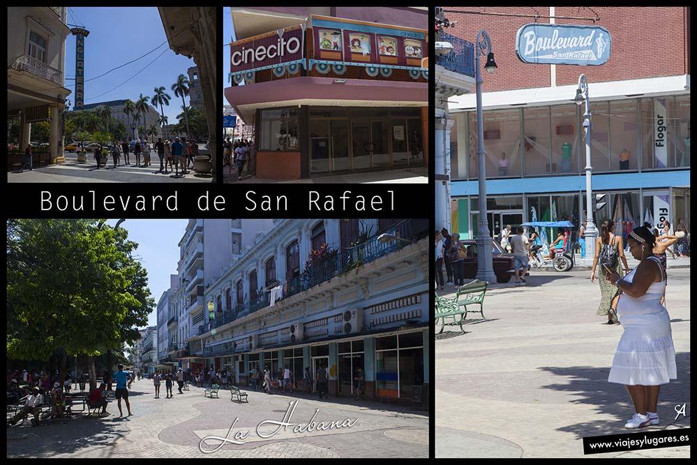 Boulevard de San Rafael. Paseando por Centro Habana