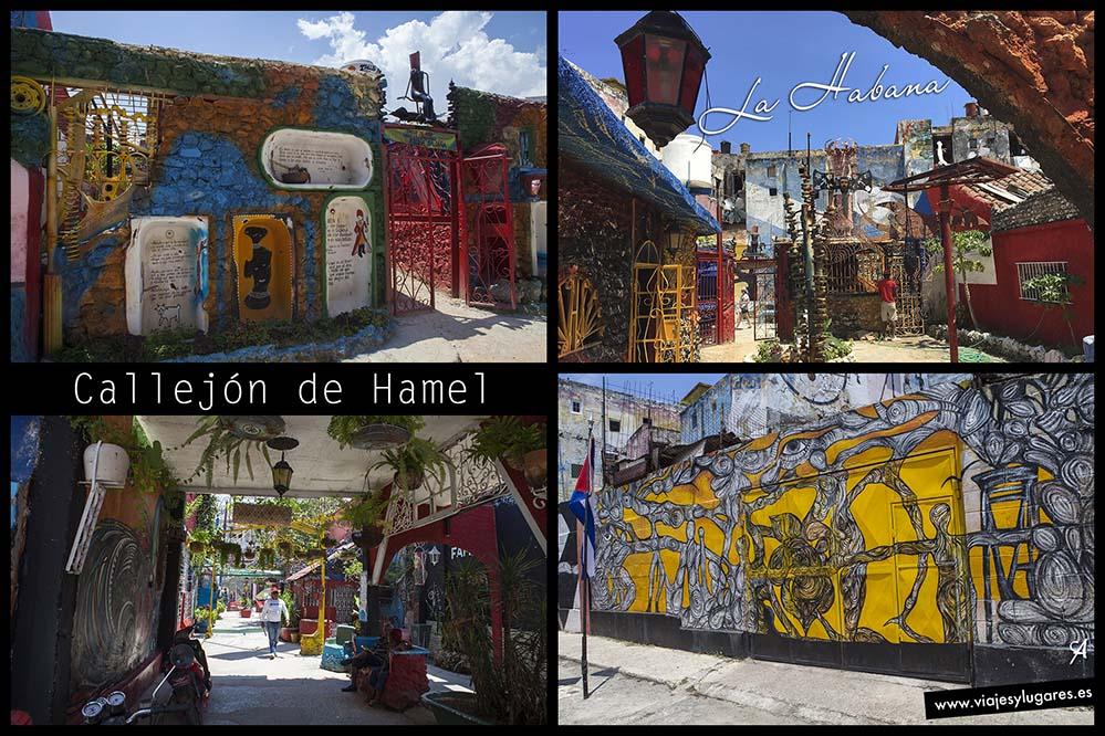 Callejón de Hamel. La Habana