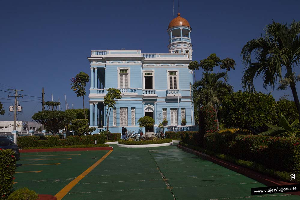 Hotel Palacio Azul. Cienfuegos
