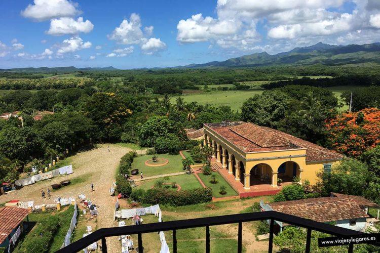 Hacienda Manaca-Iznaga. Trinidad