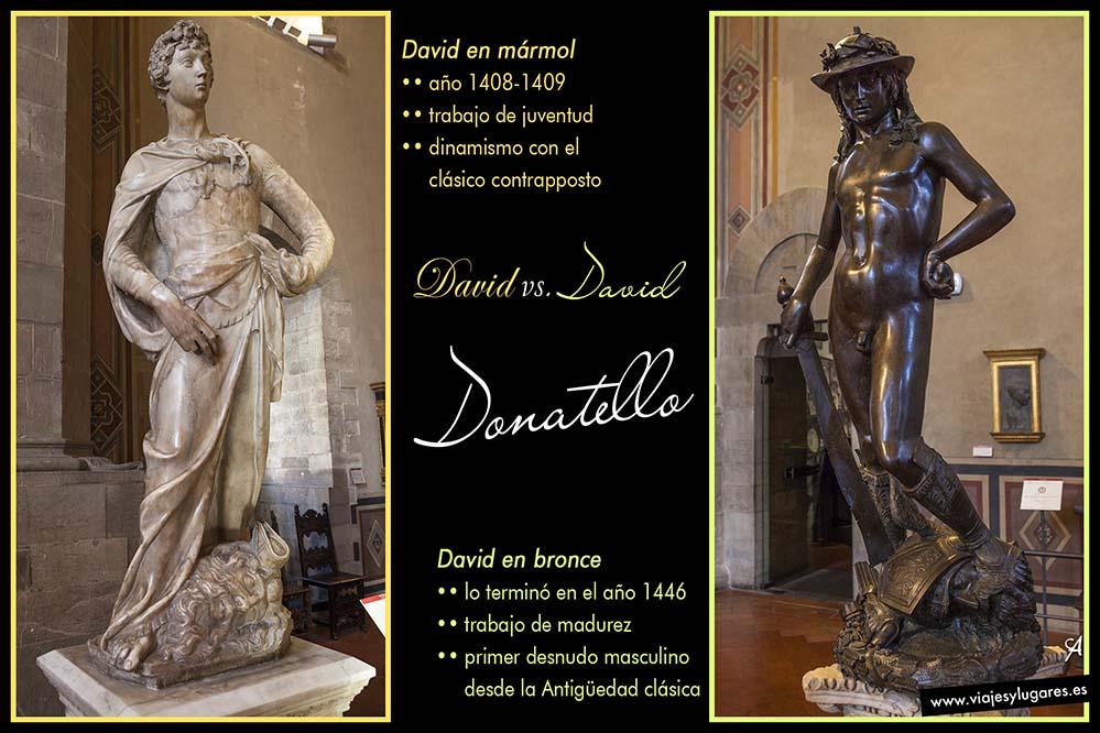 Donatello: David en mármol