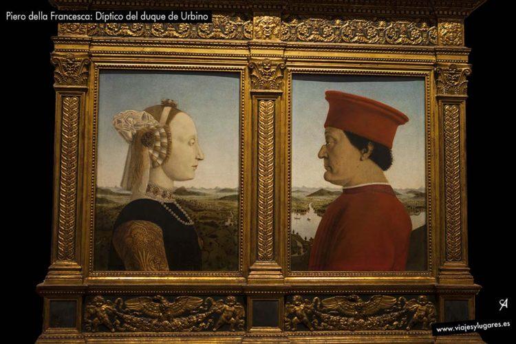 Piero della Francesca: Díptico del duque de Urbino