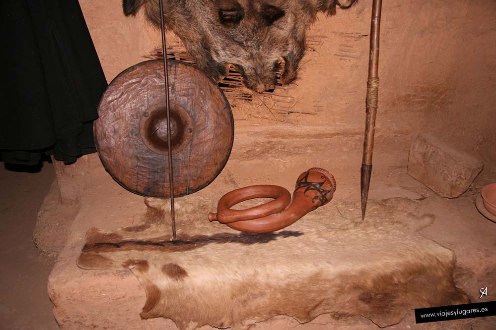 Yacimiento arqueológico de Numancia. Soria. España