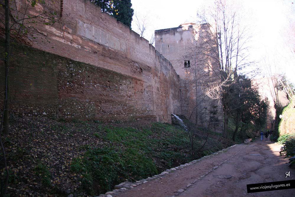 Cuesta de los Chinos, Alhambra de Granada