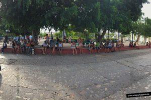 Parque Céspedes. Trinidad de Cuba