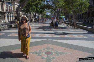 Paseo del Prado. La Habana