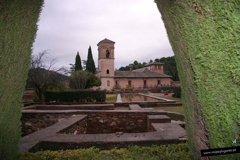 Parador de San Francisco en la Alhambra de Granada