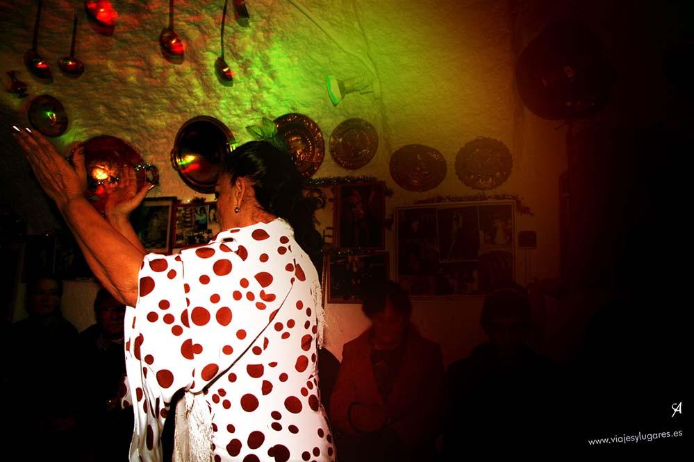 Flamenco en el Sacromonte