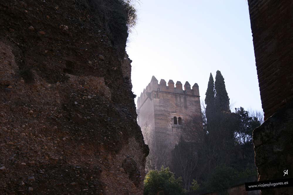 Torre de los Picos en la Alhambra de Granada