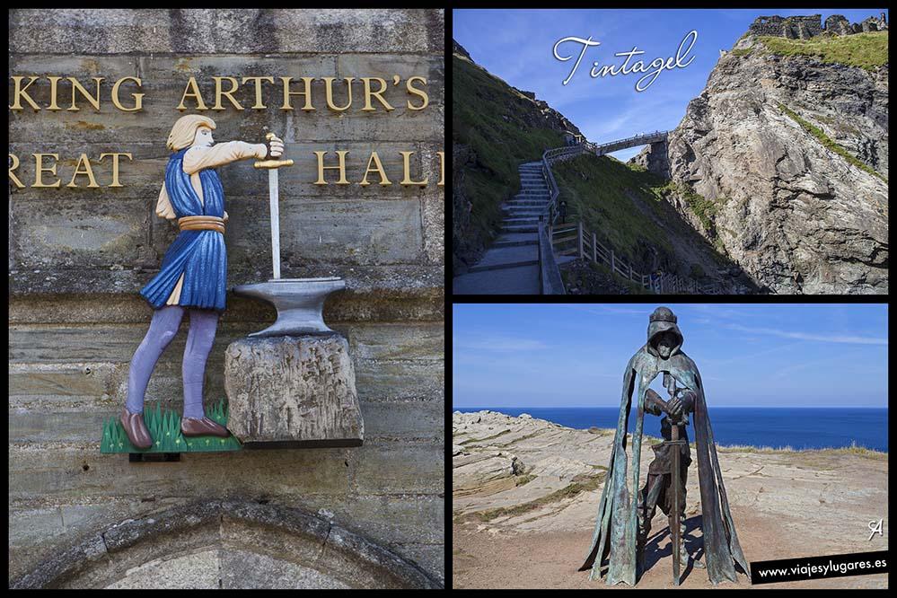Castillo de Tintagel y la leyenda del Rey Arturo