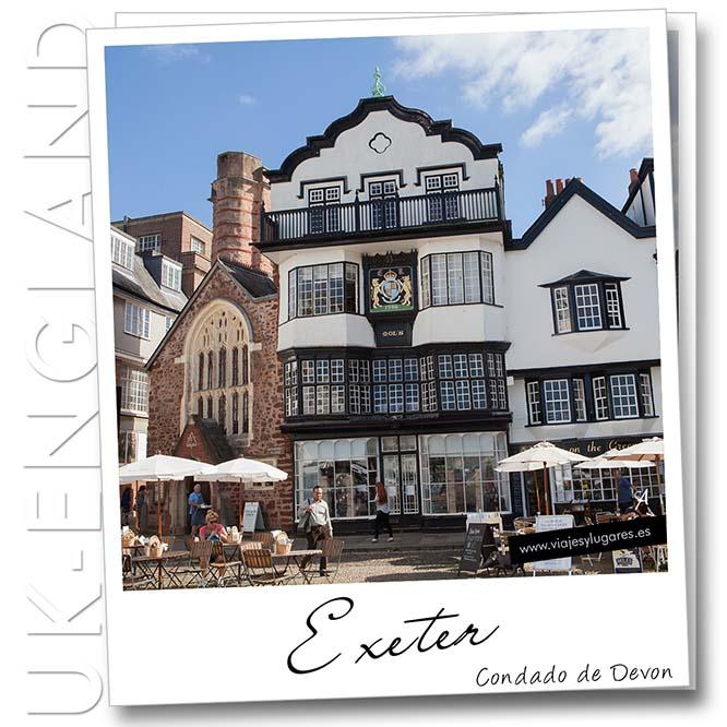 Exeter. Inglaterra. Reino Unido