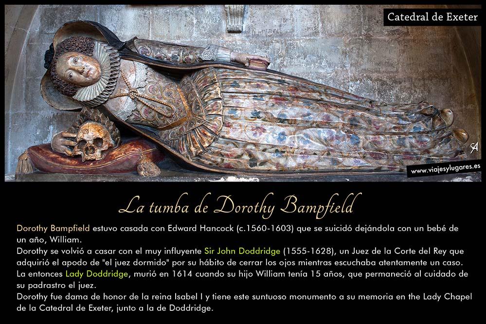 La tumba de Dorothy Bampfield