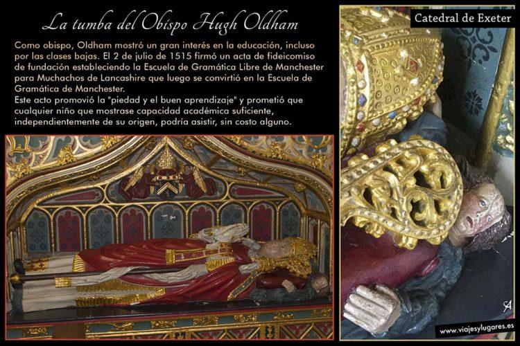 La tumba del Obispo Hugh Oldham