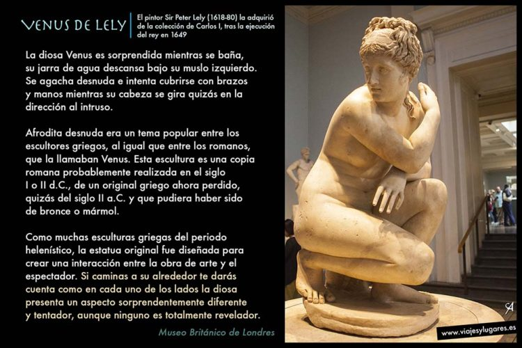 Museo Británico Venus de Lely.