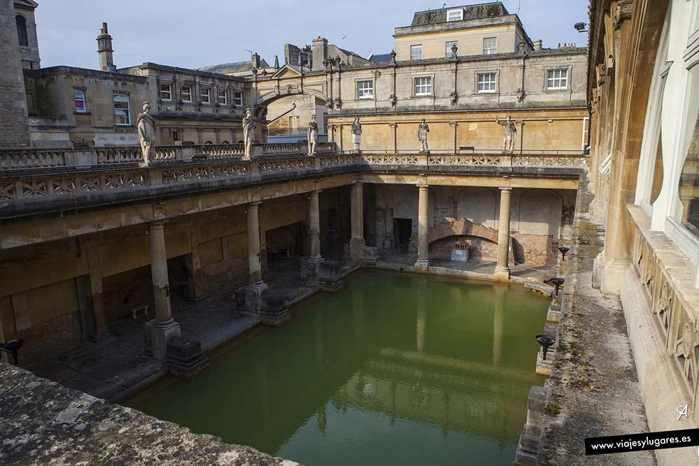 Gran Piscina. Baños romanos de Bath