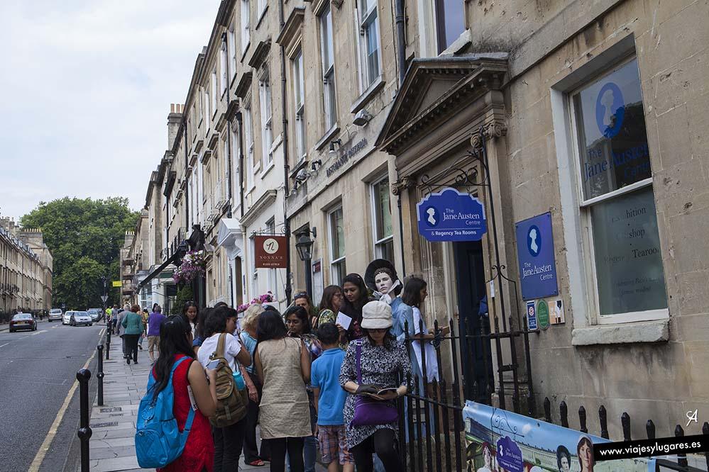 9 imperdibles de Bath. Centro de Jane Austen, The Circus y Royal Crescent