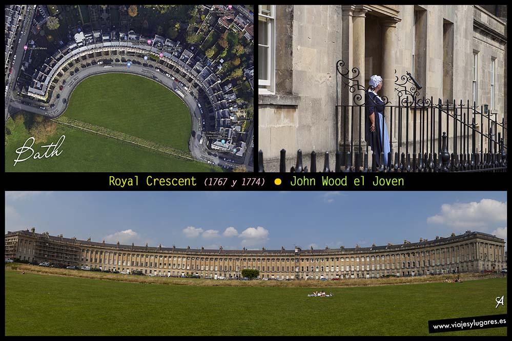Royal Crescent en Bath