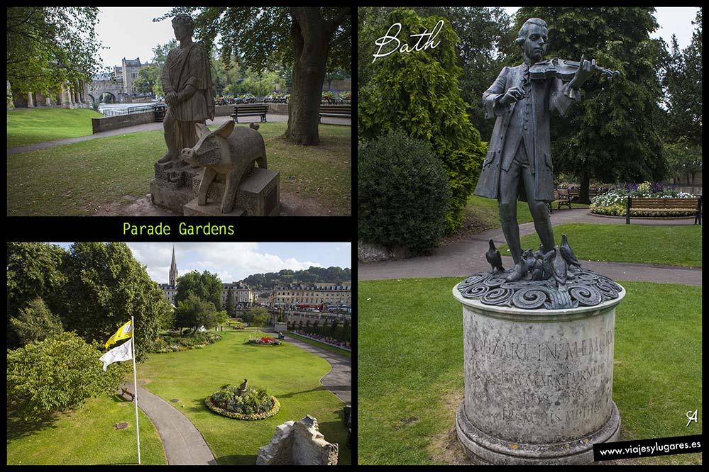 Parade Gardens, precioso jardín en Bath