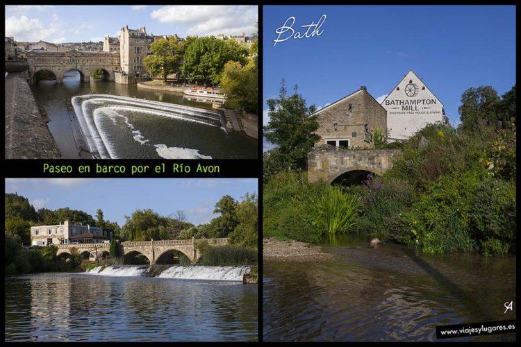 Paseo por el río Avon en Bath