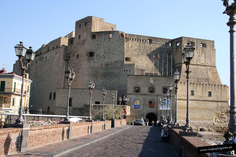 Castel dell'Ovo, el castillo del huevo. Nápoles
