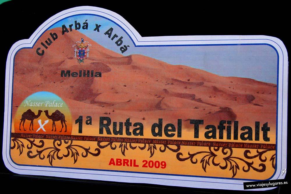 De Melilla a Merzouga