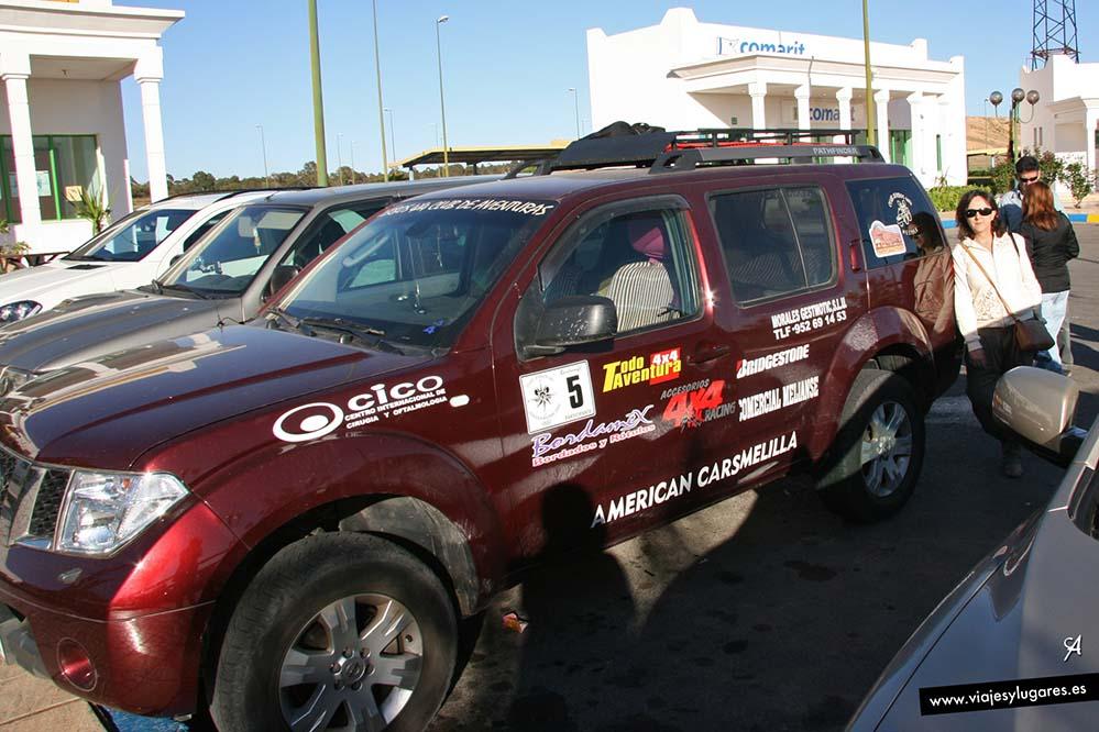 Primerada parada de Melilla a Merzouga
