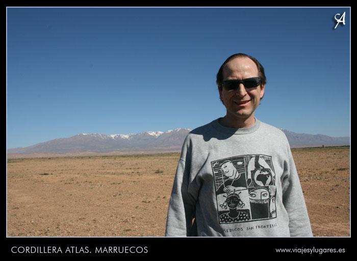 Cordillera del Atlas Marruecos